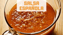 Cómo Hacer Salsa Española