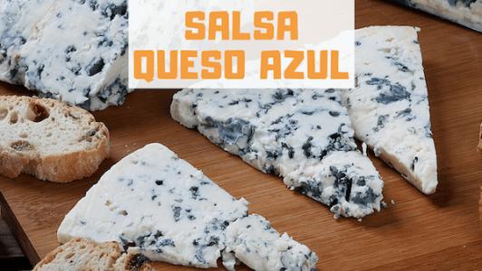 Cómo Hacer Salsa de Queso Azul